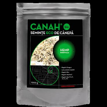 Semințe decorticate de cânepă ECO 1000 g