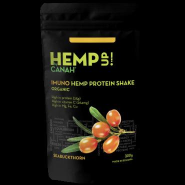 Shake proteic de cânepă ECO IMUNO Hemp Up 300 g