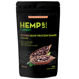 Shake proteic de cânepă ECO POWER Hemp Up 300 g