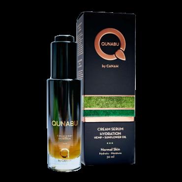 Cremă serum de hidratare pentru ten normal QUNABU 30 ml