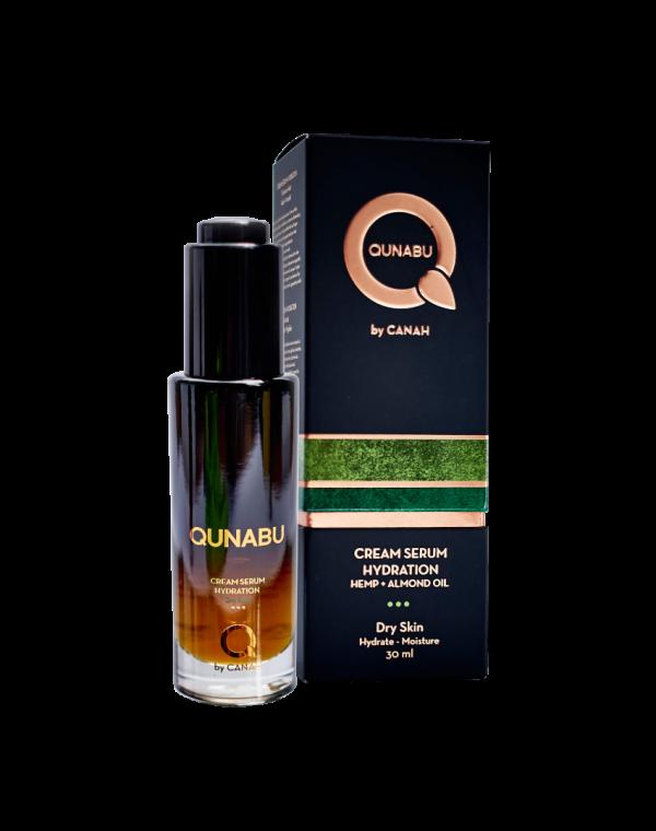 Cremă serum de hidratare pentru ten uscat QUNABU 30 ml